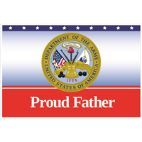 """Father"" Army Yard Signs"
