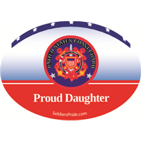 """Daughter"" Coast Guard Decals"
