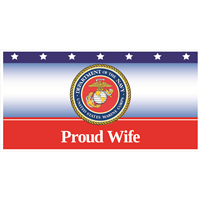 """Wife"" Marines Banners"