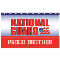 """Brother"" National Guard Banners"