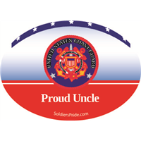 """Uncle"" Coast Guard Decals"