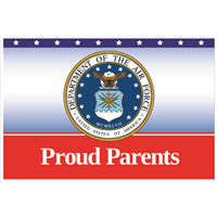 """Parents"" Air Force Yard Signs"