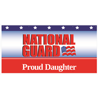 """Daughter"" National Guard Banners"
