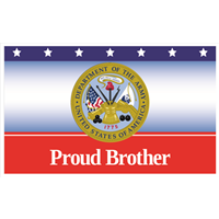 """Brother"" Army Banners"