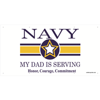 My Dad is Serving - Navy