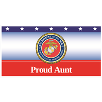 """Aunt"" Marines Banners"