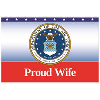 """Wife"" Air Force Flags"