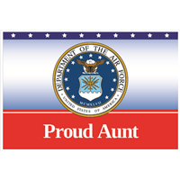 """Aunt"" Air Force Yard Signs"