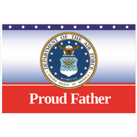 """Father"" Air Force Flags"