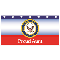 """Aunt"" Navy Banners"