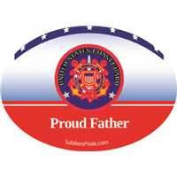 """Father"" Coast Guard Decals"