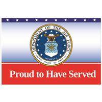 Proud Air Force Service Yard Signs