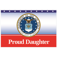 """Daughter"" Air Force Flags"