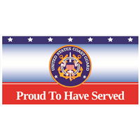 Proud Coast Guard Banners