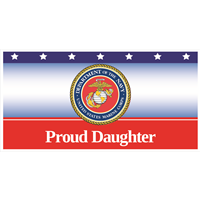 """Daughter"" Marines Banners"