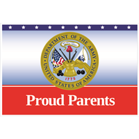 """Parents"" Army Yard Signs"