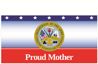 8'x4' Proud Mother Army Banner