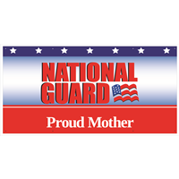 6'x3' Proud Mother National Guard Banner