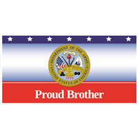 6'x3' Proud Brother Army Banner