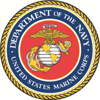 Marines Seal Decal - Large