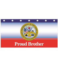 8'x4' Proud Brother Army Banner