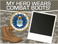 My Hero - Air Force Yard Sign 2