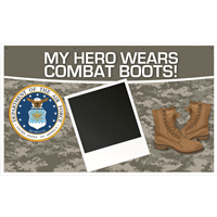 5'x3' My Hero - Air Force Banner