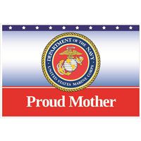 3'x2' Proud Mother Marines Flag