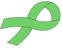Customizable Ribbon Decal - Green