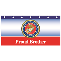 6'x3' Proud Brother Marines Banner