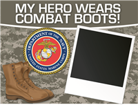 My Hero - Marines Yard Sign 2