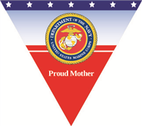 Proud Mother Marines Pennant