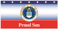 8' x 4' Proud Son Air Force Banner