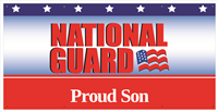 6'x3' Proud Son National Guard Banner