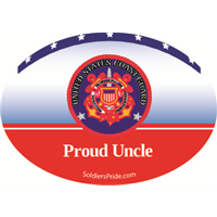 Proud Uncle Coast Guard Decal