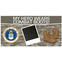 8'x4' My Hero - Air Force Banner