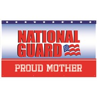 5'x3' Proud Mother National Guard Banner