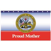 5'x3' Proud Mother Army Banner