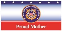 6'x3' Proud Mother Coast Guard Banner
