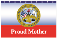 3'x2' Proud Mother Army Flag