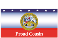 8'x4' Proud Cousin Army Banner