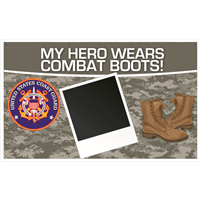 5'x3' My Hero - Coast Guard Banner