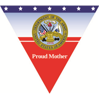 Proud Mother Army Pennant