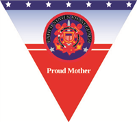 Proud Mother Coast Guard Pennant