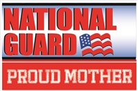 3'x2' Proud Mother National Guard Flag