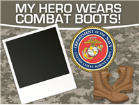 My Hero - Marines Yard Sign 1