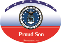 Proud Son Air Force Decal