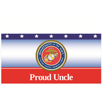8' x 4' Proud Uncle Marines Banner