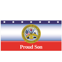 8'x4' Proud Son Army Banner