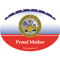 Proud Mother Army Decal